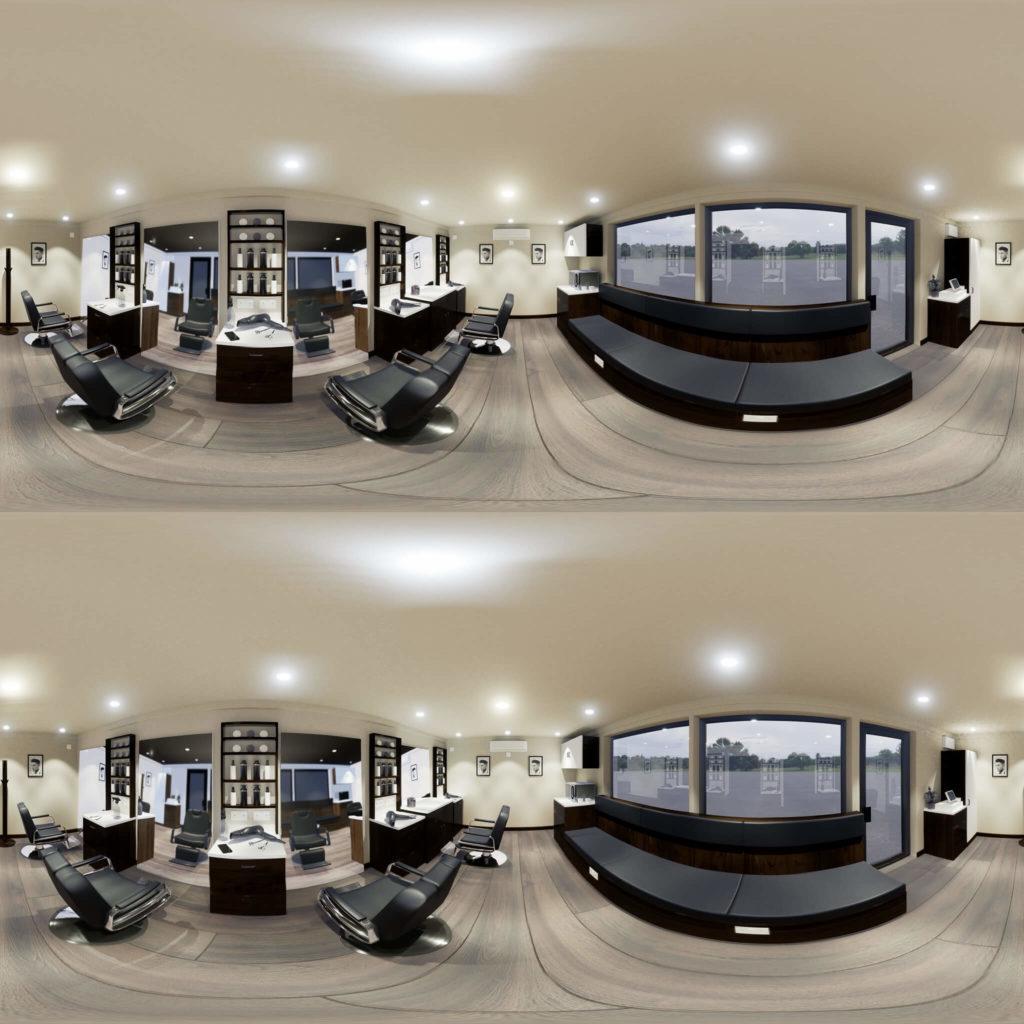 Barbers VR shot