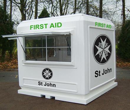first aid medical pod