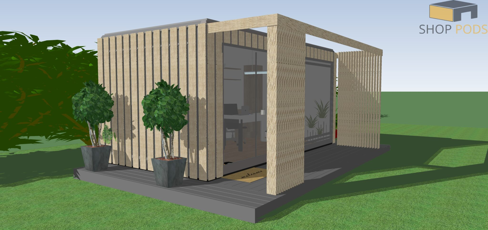 5.1m x 2.7m- Garden Office
