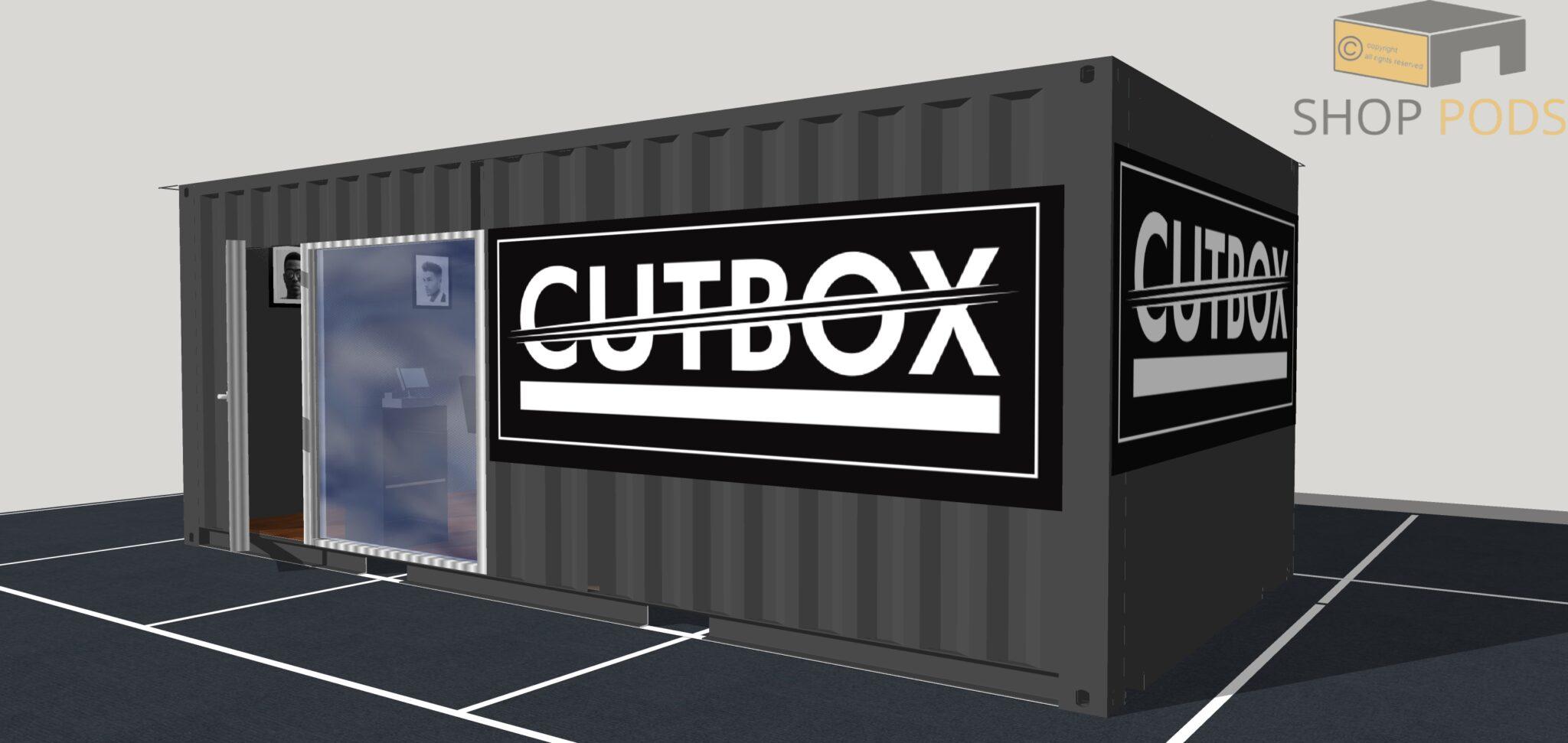 Cutbox 6.8m x 3.4m Pod0