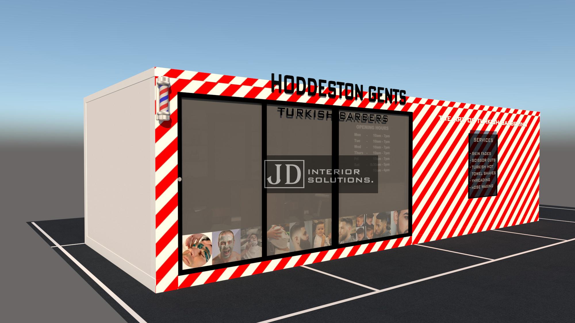 Hoddeston Barbers - 9m x 3.4m