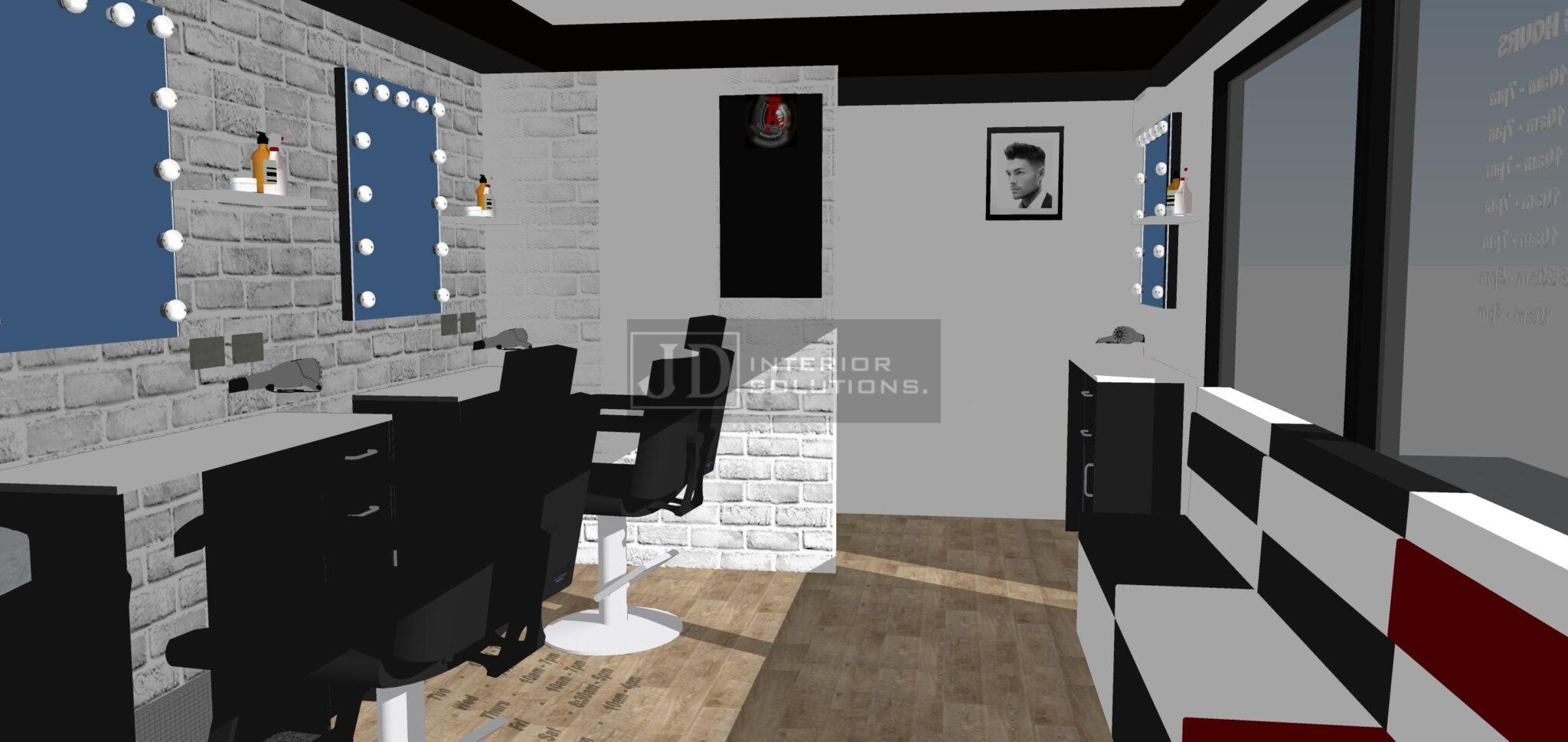 LA Jaks Barbershop - 6.8m x 3.4m2