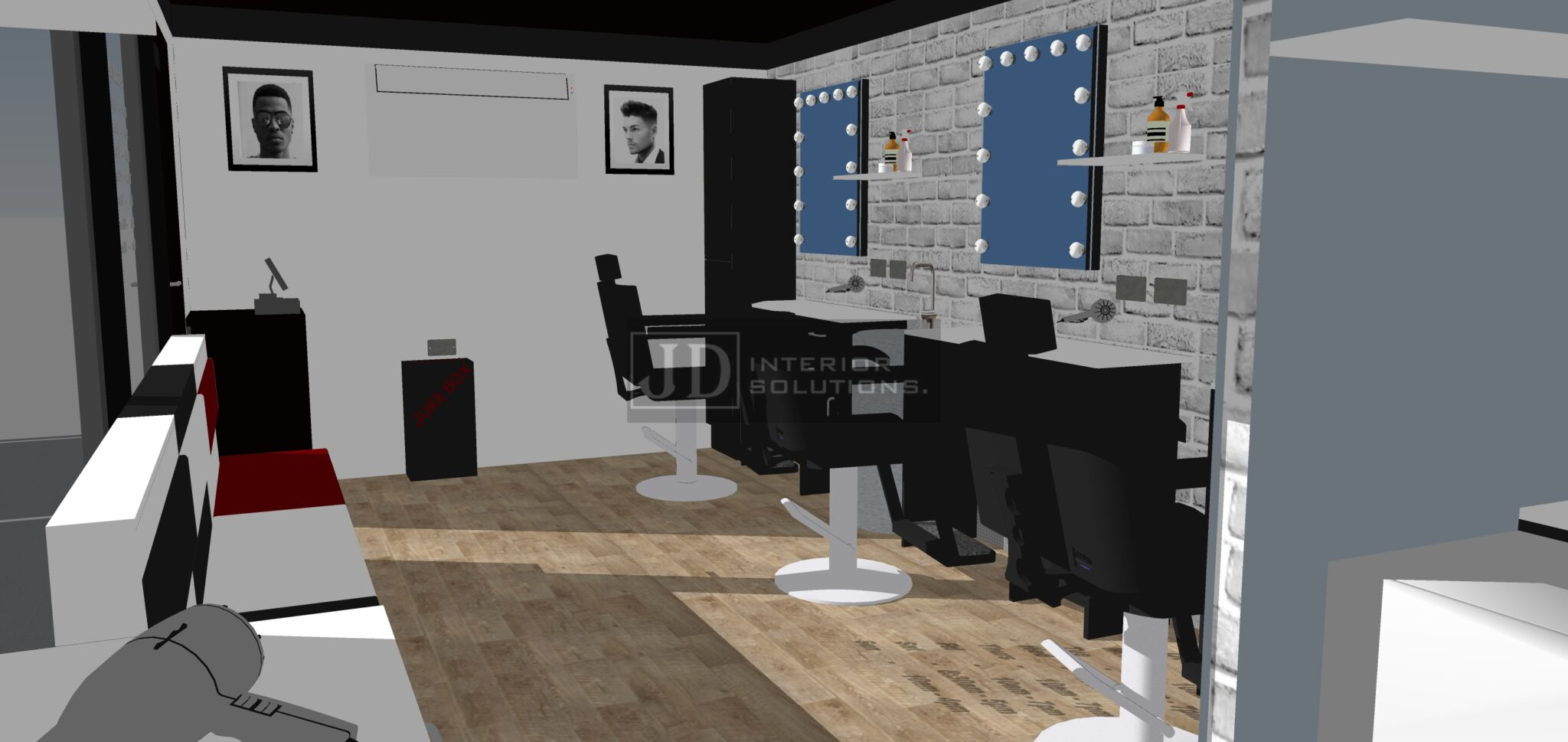LA Jaks Barbershop - 6.8m x 3.4m3