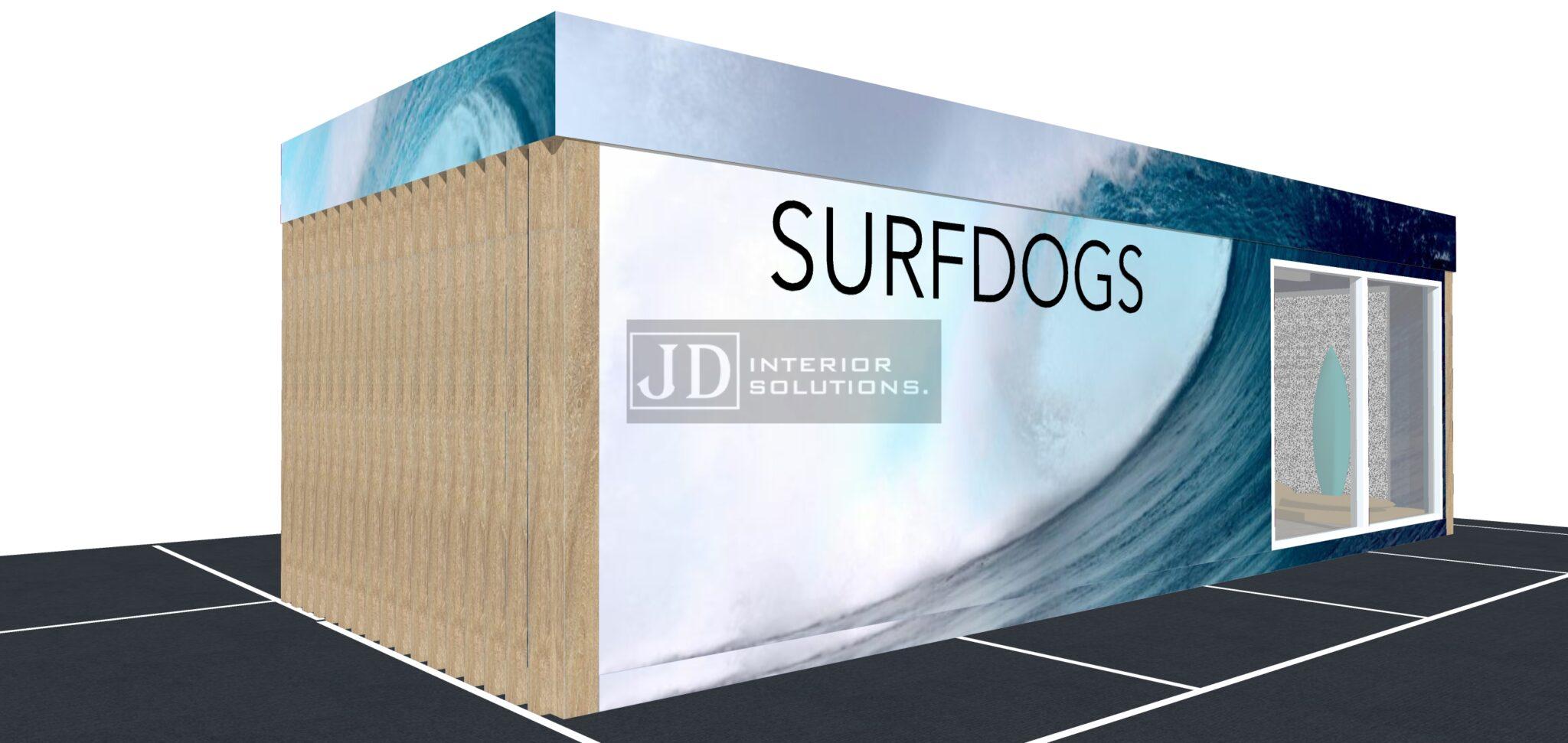 Surf Dogs- 9m x 3.4m POD
