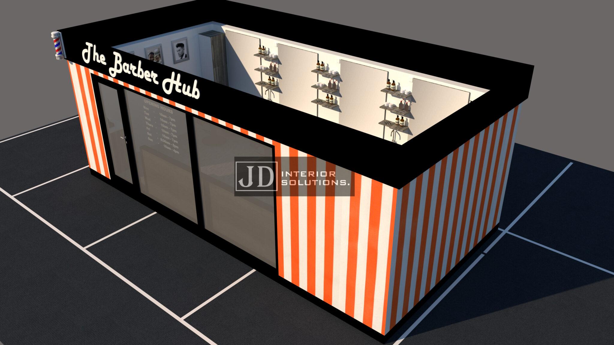 The Barber Hub POD 1 - 6.8m x 3m
