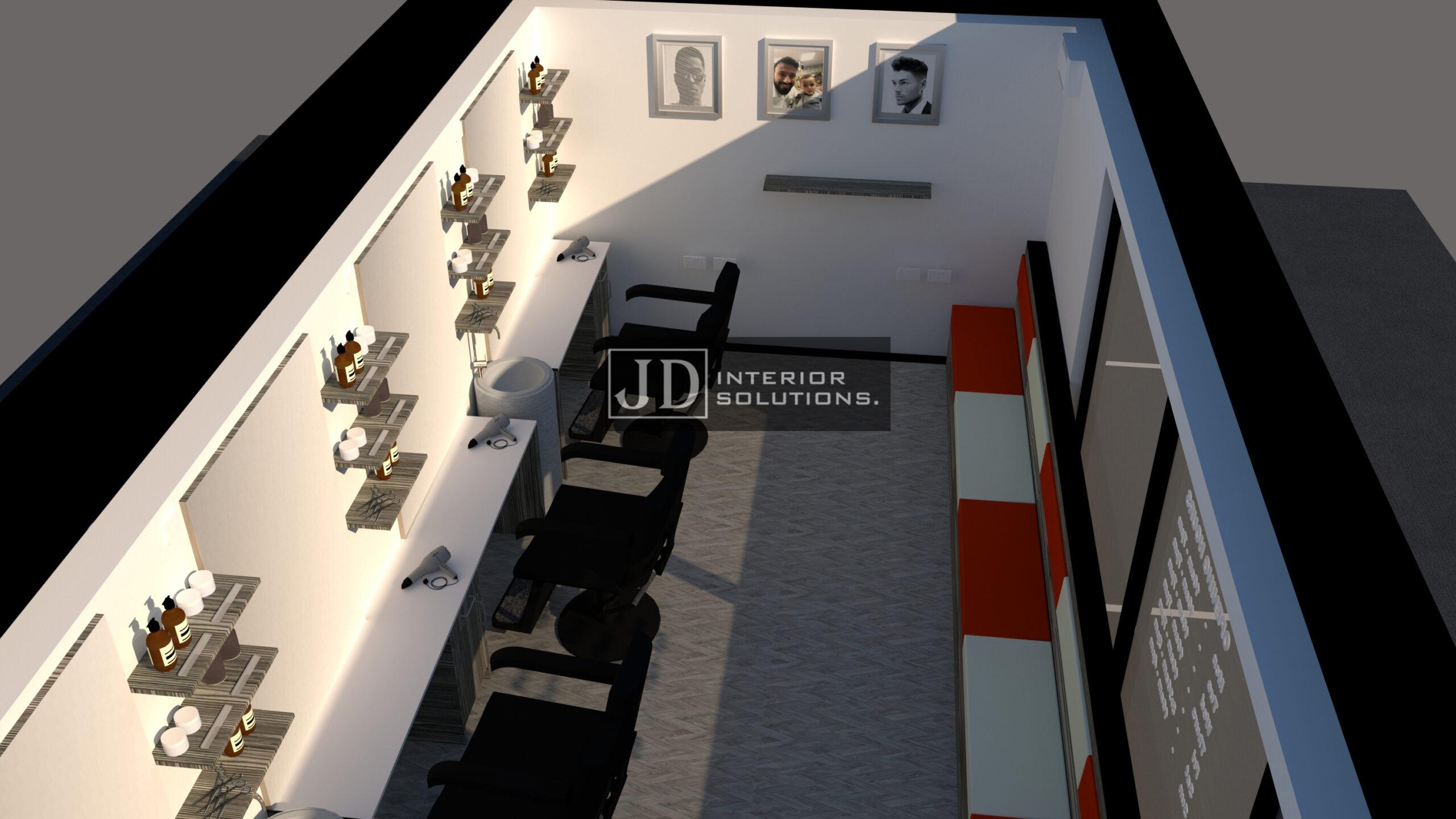 The Barber Hub POD 3 - 6.8m x 3m