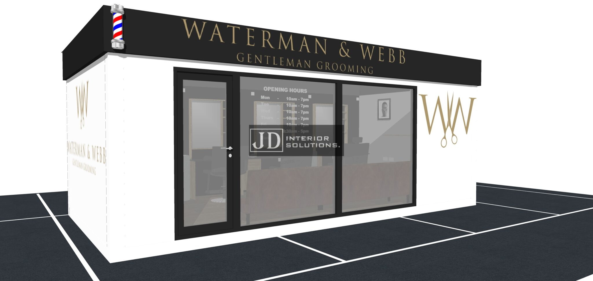 Waterman & Webb - 6.8m x 3.4m POD