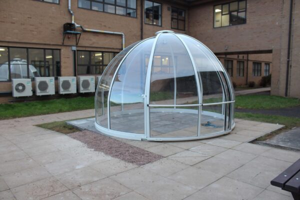 strong plastic dome