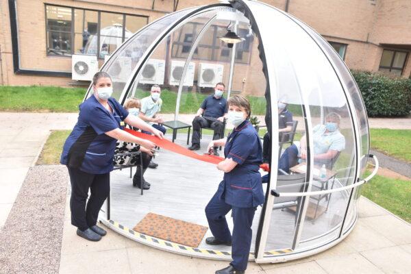 nhs igloo dome